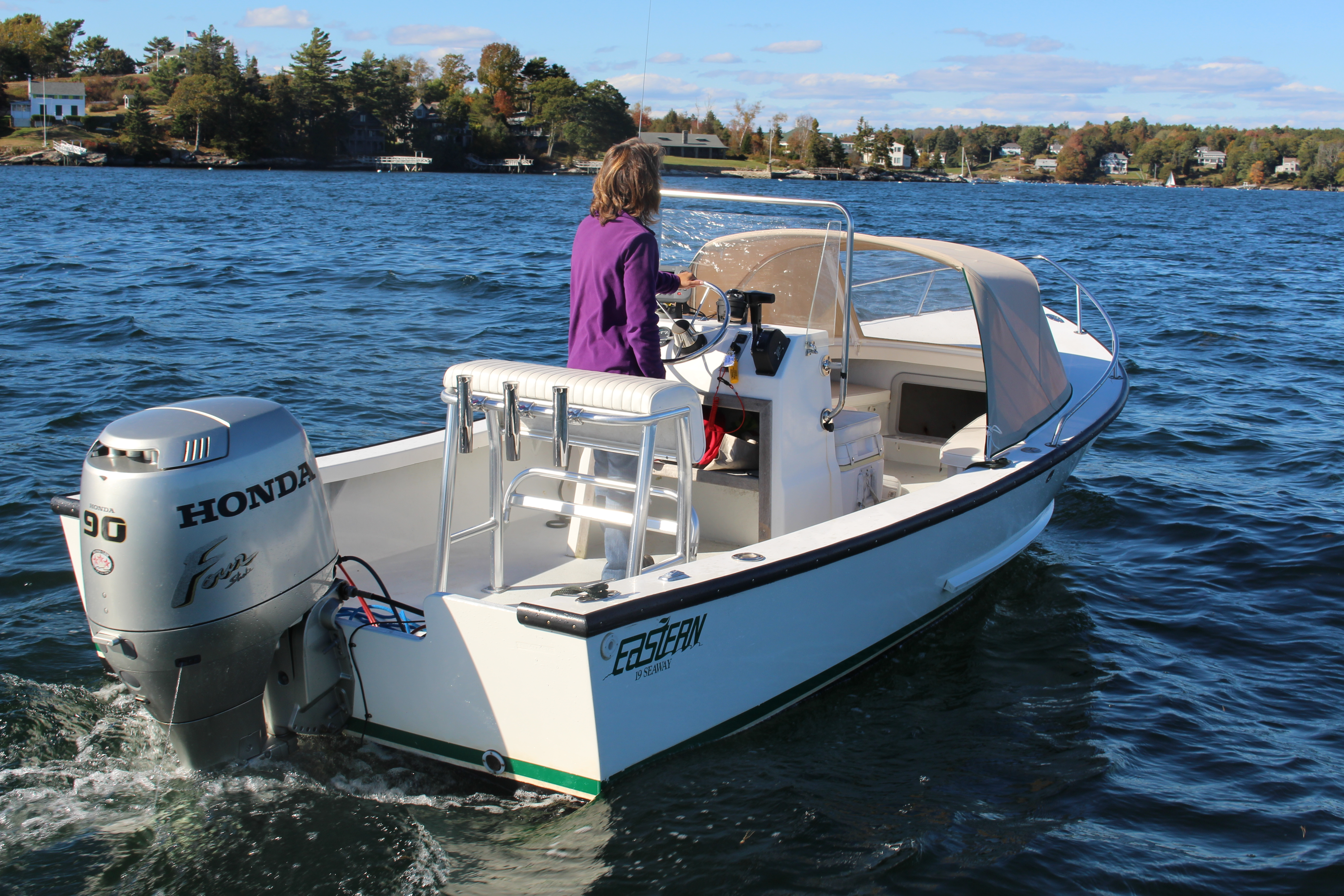 Eastern 19 Center-Console - Boat Rentals on Boothbay Harbor