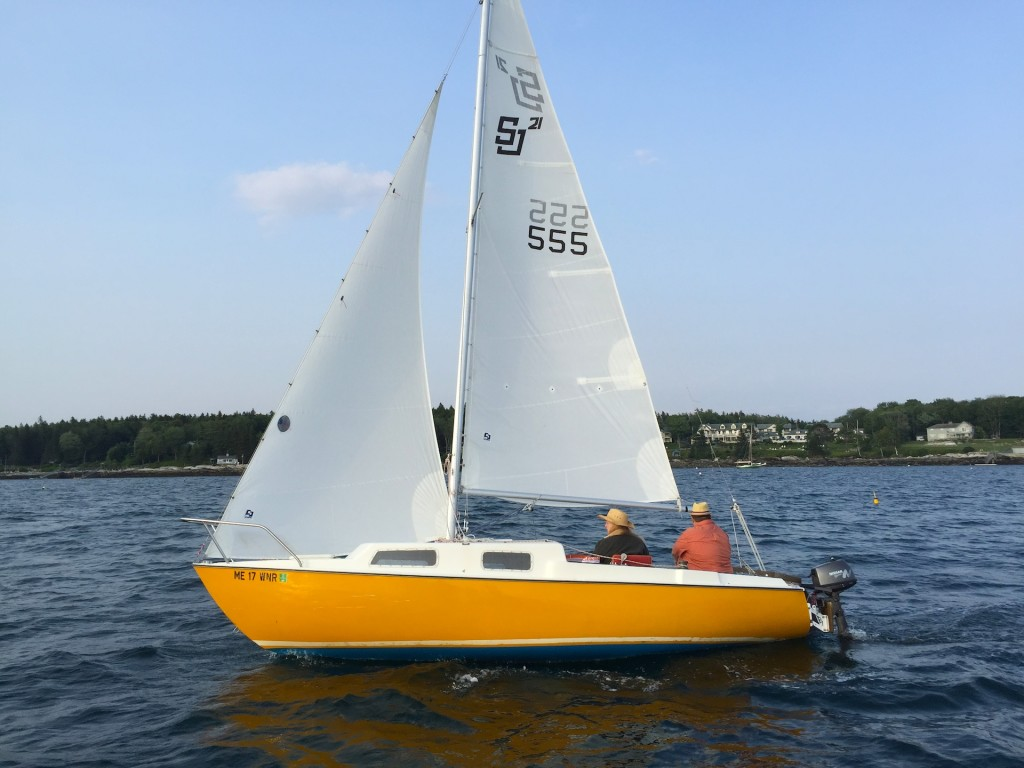 Quasar out sailing
